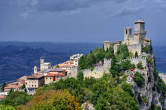 San Marino. City center of San Marino Stock Photo