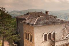 San-Marino Cityscape Stock Photography