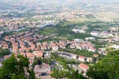 San-Marino Cityscape Stock Photos