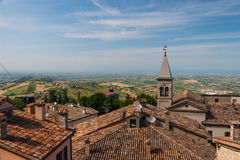 San-Marino Cityscape Stock Photo