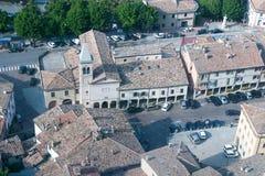 San-Marino Cityscape Royalty Free Stock Image