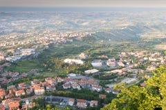 San-Marino Cityscape Stock Images