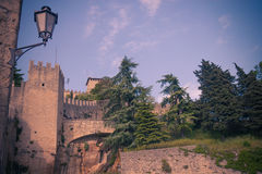 San-Marino Cityscape Royalty Free Stock Photo