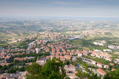 San-Marino Cityscape Royalty Free Stock Photography
