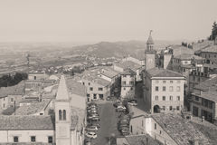 San-Marino Cityscape Royalty Free Stock Images
