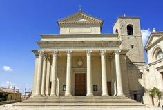 San Marino:  Domus Plebis Stock Photos
