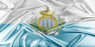 San Marino Flag Royalty Free Stock Photos