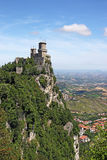 San Marino fortress Royalty Free Stock Photography
