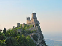 San Marino - Guaita Castle Stock Photo