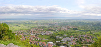 San-Marino. Italië. Stock Foto's
