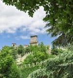San Marino, Italien stockbilder