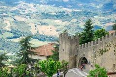 San Marino, Italien stockbild
