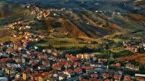 San Marino Italien Arkivfoto