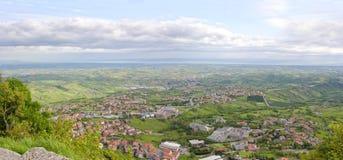 San Marino. Italien. Stockfotos