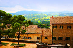 San Marino, Italy. Europe Royalty Free Stock Image