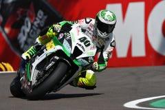 San Marino, Italy - May 12: Román Ramos ESP Kawasaki ZX-10R Team GO ELEVEN in action Stock Photography