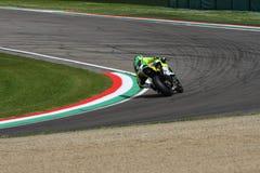 San Marino, Italy - May 12: Román Ramos ESP Kawasaki ZX-10R Team GO ELEVEN in action Stock Photos
