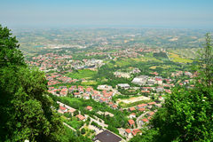 San Marino, Italy Royalty Free Stock Photos