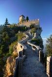San Marino, kasteel Stock Foto's