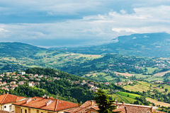 San Marino landscape. Royalty Free Stock Images