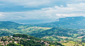 San Marino landscape. Stock Photo