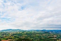 San Marino landscape. Royalty Free Stock Photos