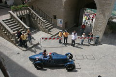 SAN MARINO-MILLE MIGLIA RACE 2008 Royalty Free Stock Photos