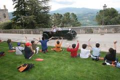 SAN MARINO-MILLE MIGLIA RACE 2008 Royalty Free Stock Image