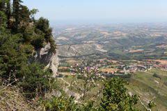 San Marino.Na Mount Titano Stock Photos