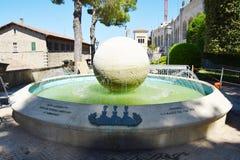 San Marino, the New Water Main monument Stock Photo