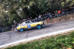 San Marino 21 October 2017 -FORD ESCORT RS 1977 at rally the legend Royalty Free Stock Image