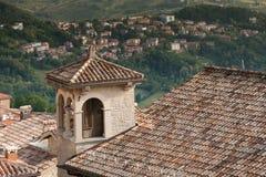San-Marino Old Town Center Cityscape Stock Photos