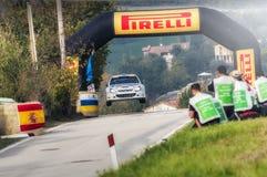 San Marino 21 ottobre 2017 - CITROEN XSARA sul salto a raduno la leggenda Immagini Stock