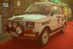 San Marino 21 ottobre 2017 - Fiat 126 a raduno la leggenda Fotografie Stock Libere da Diritti