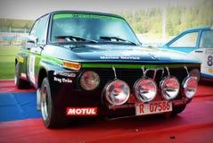 San Marino 21 ottobre 2017 - TI 2002 di BMW a raduno la leggenda Fotografia Stock