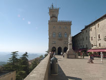 San Marino. Overlook from San Marino Royalty Free Stock Photos