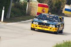 San Marino 21 2017 Październik - Lancia 037 przy wiecem legenda Obraz Stock