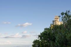 San Marino. Republic of San Marino, Rimini. Emilia-Romagna. Italy Royalty Free Stock Photos