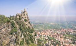 San Marino Republic - Rimini Italy Royalty Free Stock Image