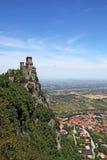 San Marino Rocca della Guaita Fotografia Stock Libera da Diritti