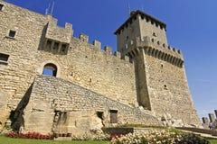 San Marino - roccaguaita Royaltyfria Bilder