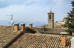 San Marino roof Stock Photography