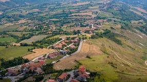 San Marino San Marino Arkivfoto