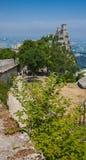San Marino San Marino Royaltyfria Foton