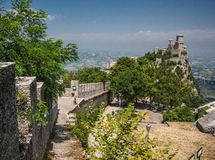 San Marino San Marino Royaltyfri Foto