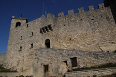 San Marino second tower Stock Images