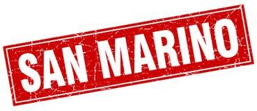 San Marino stamp. San Marino square grunge stamp. San Marino sign. San Marino royalty free illustration
