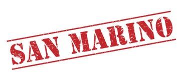 San marino  stamp Royalty Free Stock Images