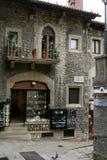 San Marino. State-fortress of San Marino. Street of San Marino Royalty Free Stock Photography