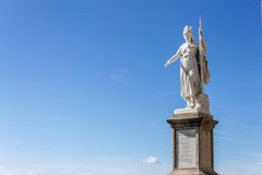 San Marino statue royalty free stock images